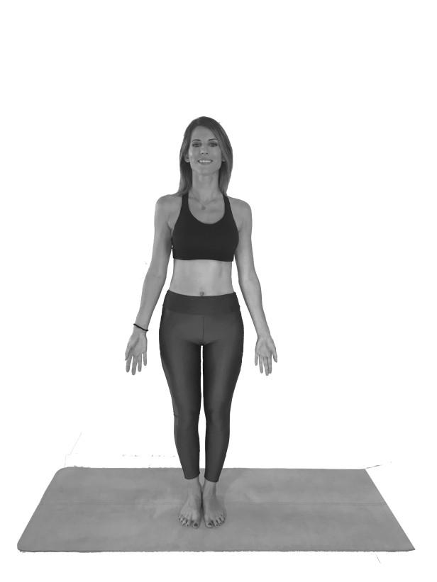 Tadasana - La Montaña - Yoga depresión